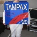 Homemade Tampax Costume