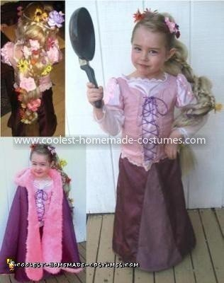 Coolest Tangled Rapunzel Costume 3