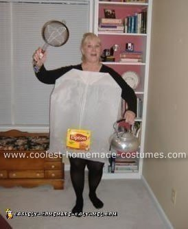 The Tea bag lady