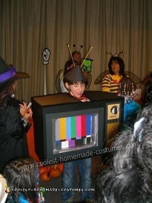 Homemade Television Child Halloween Costume