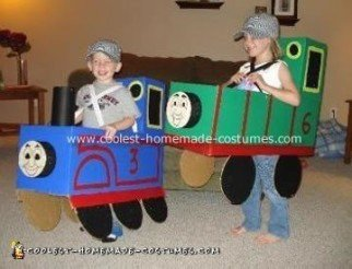 Thomas the Tank Engine and Percy Costume