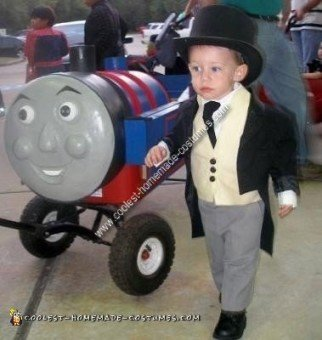 Thomas the Tank Engine and Sir Topham Hatt Costume