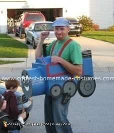 Thomas the Tank Halloween Costume