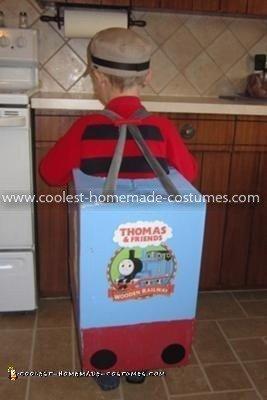 Homemade Thomas The Train Costume