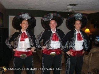 Homemade Three Amigos Costume