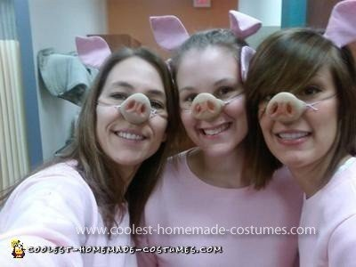 Homemade Three Little Pigs Costume