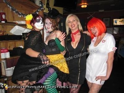 Three-Legged Circus Freak Costume