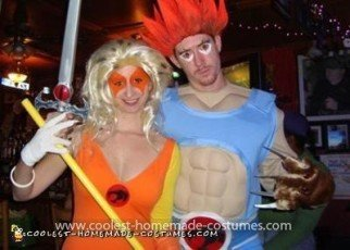 Coolest Thundercats Couple Costume 7