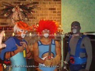 Coolest Thundercats Group Costume