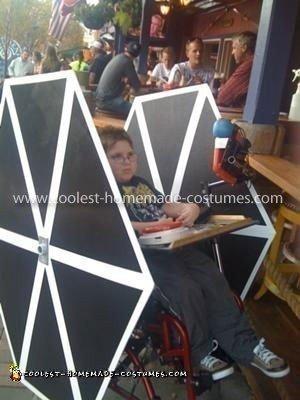Coolest TIE Fighter Wheelchair Costume