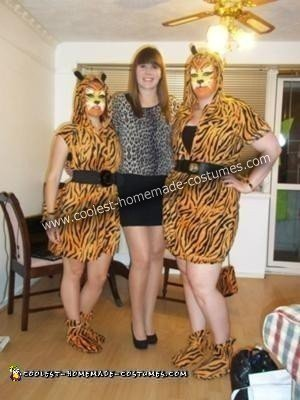 Tiger Costume Idea