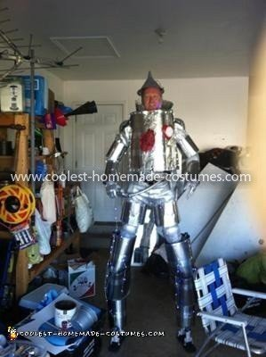 Coolest Tin Man Costume 10
