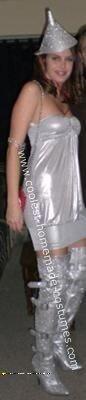 Tin Woman Halloween Costume