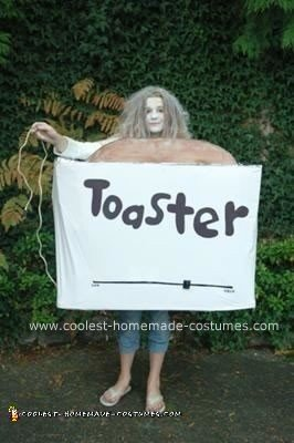 Homemade Toaster Costume