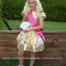 Homemade Toddlers and Tiaras Costume