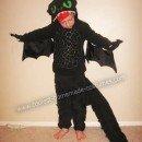 Toothless the Dragon DIY Halloween Costume