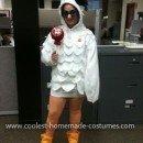 Homemade Tootsie Pop Owl Costume