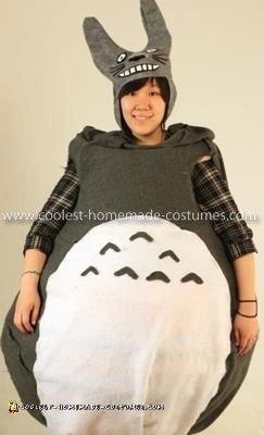 Homemade Totoro Costume