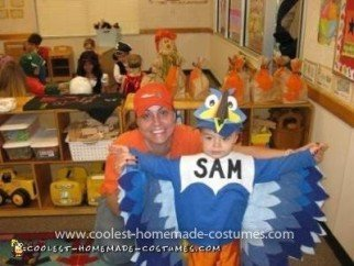 Homemade Toucan Sam Costume