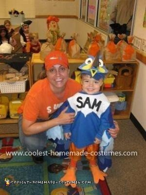Homemade Toucan Sam Costume