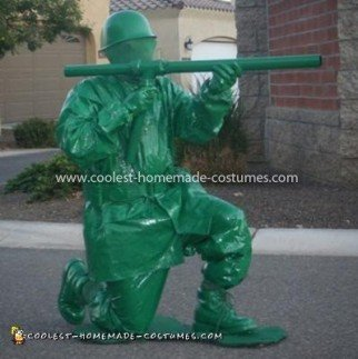 Coolest Toy Plastic Soldier Costume 23