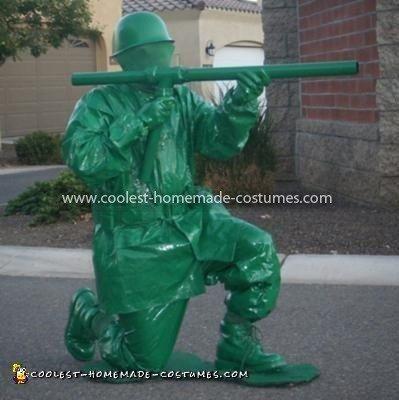 Coolest Toy Plastic Soldier Costume 23