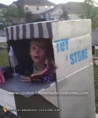Homemade Toy Store Costume