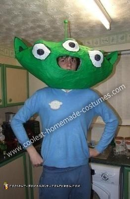Toy Story Alien DIY Costume
