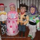 Coolest Toy Story Child Group Costume