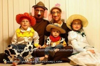Coolest Toy Story Group Costume