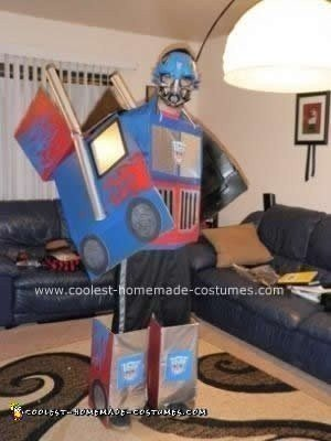 Homemade Transforming Transformer DIY Halloween Costume