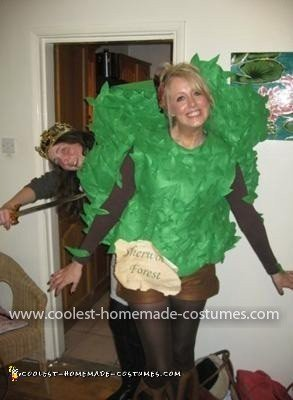 Homemade Tree Costume