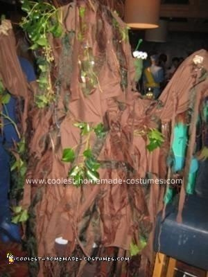 Homemade Treebeard The Ent from Lord of the Rings Costume