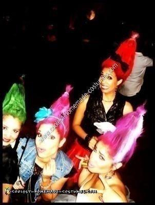 Trolls Halloween Group Costume Idea