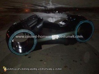 Coolest Tron Light Cycle Costume 8