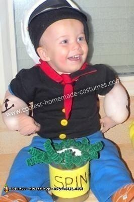 Twin Boy Popeye and Bluto Costumes