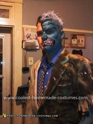 Homemade Two Face Costume