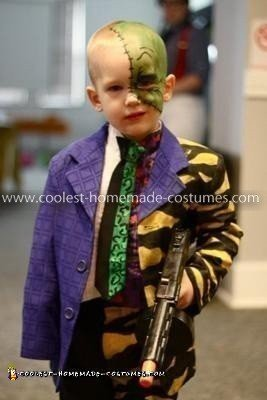 Homemade Two-Face Costume