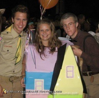 Homemade Up Group Costume
