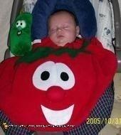 Bob the Tomato Costume from Veggie Tales
