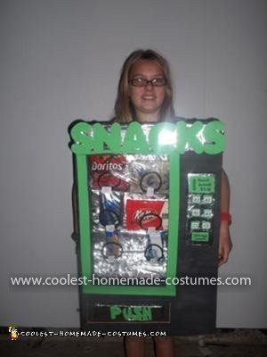 Homemade Vending Machine Costume