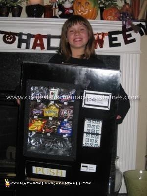 Homemade Vending Machine Halloween Costume