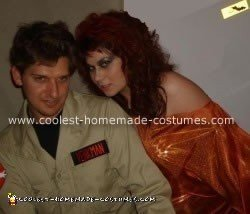 Homemade Venkman and Zuul from Ghostbusters Costume