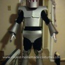 Homemade Vintage Sci-Fi Robot Costume