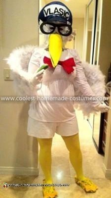 Vlasic Pickle Stork Costume