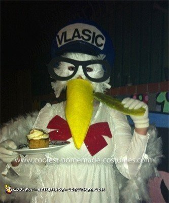 Homemade Vlasic Pickle Stork Costume