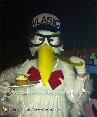 Homemade Vlasic Pickle Stork Costume
