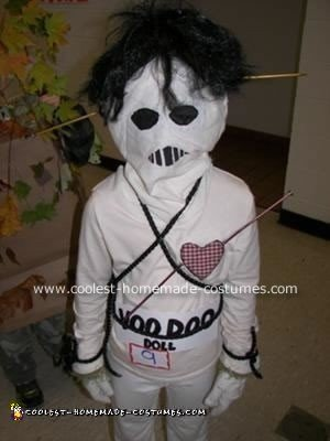 Homemade Voodoo Doll Costume