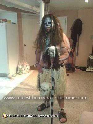 Coolest Voodoo Witch Doctor Costume 7