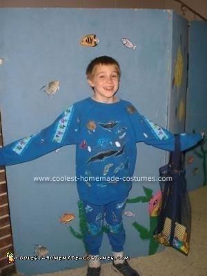 Walking Ocean Halloween Costume